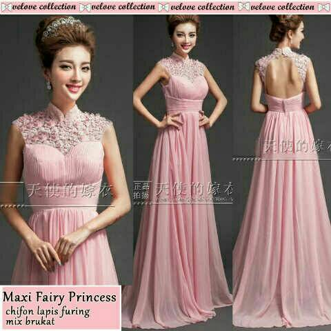 Long Dress Gaun Maxi Princess Model Terbaru & Murah