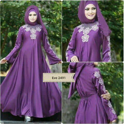 Pakaian Gamis Muslim Wanita Modern Terbaru & Murah