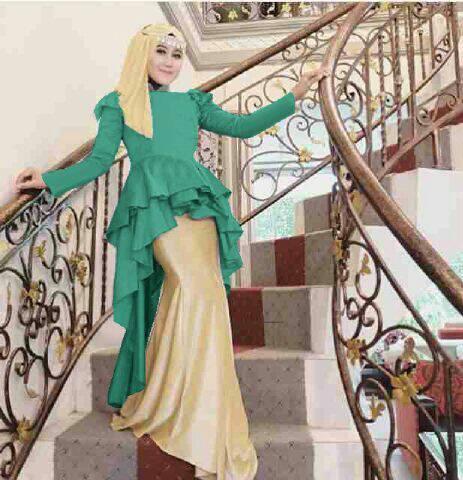 Setelan 3in1 Baju Muslim Wanita Model Terbaru & Murah