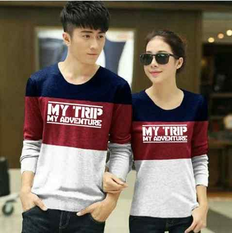 Baju Kaos Couple My Trip My Adventure (MTMA) Terbaru & Murah