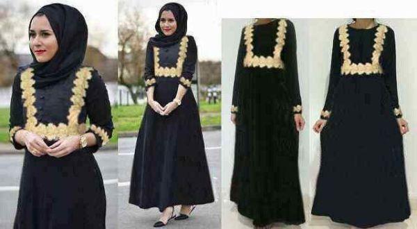 Baju Long Dress Hijab Muslim Wanita Modis & Murah
