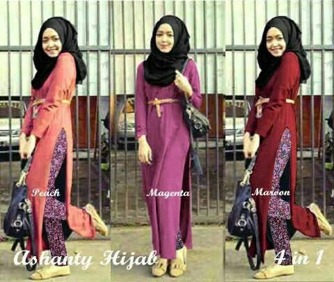 Baju Muslim Wanita Setelan Hijab & Pashmina Cantik Terbaru & Murah