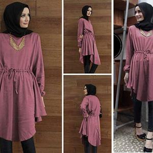 """Baju Atasan Wanita """"Blouse Tunik Hijab"""" Terbaru & Murah"""