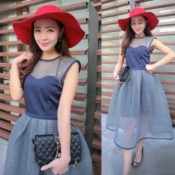 Baju Dress Tile Model Terbaru Unik & Modis