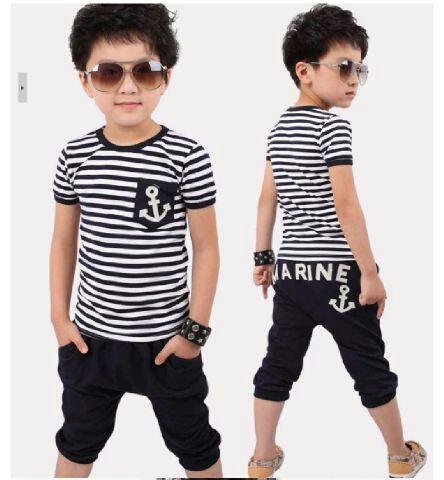 Baju Setelan Celana & Kaos Pendek Anak Laki-laki Murah