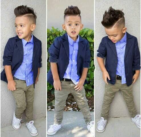 Setelan Baju Blazer & Celana Panjang Anak Laki-laki Keren & Murah
