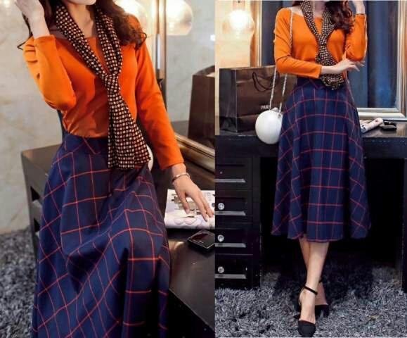 Setelan Baju & Rok Modis Model Terbaru Cantik & Murah