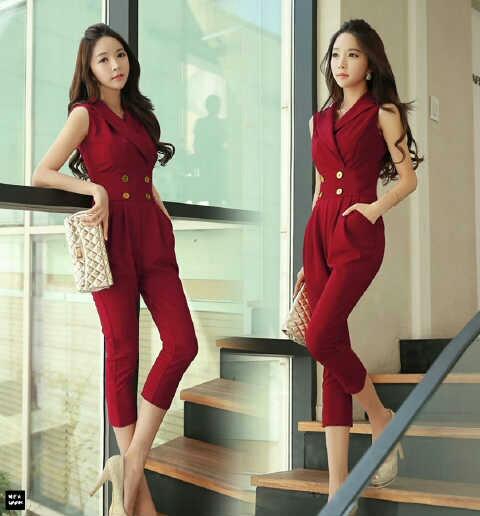 Model Baju Kodok Merah Maroon Cantik & Modis