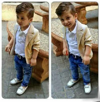 Setelan Baju Blazer & Celana Panjang Anak Laki-laki Murah
