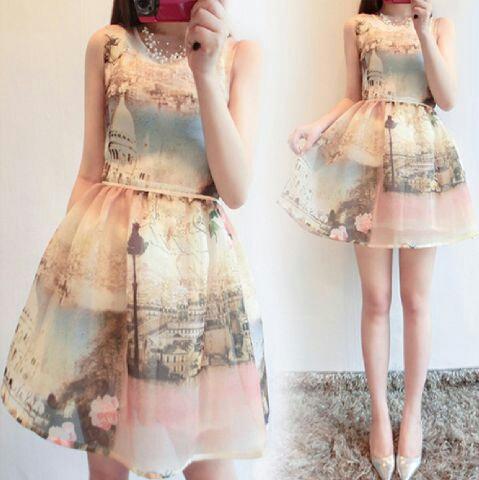 Baju Dress Pendek Cantik Terbaru & Murah