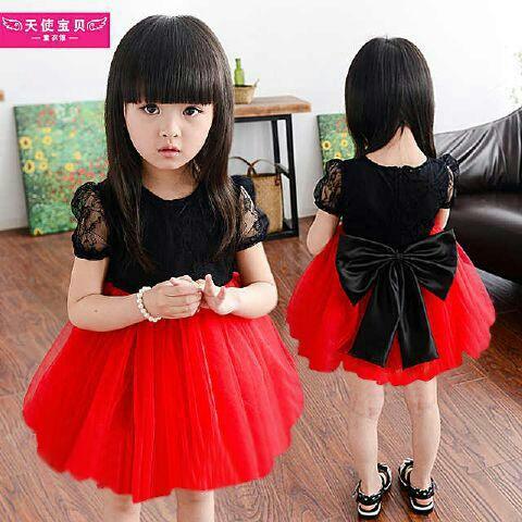 Baju Dress Pesta Anak Perempuan Cantik Lucu & Murah