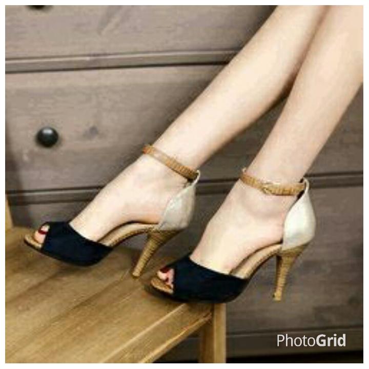 High Heels Sepatu Sandal Wanita Murah & Cantik Model Terbaru
