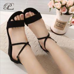 Sepatu Sandal Wanita Murah dan Cantik Warna Hitam