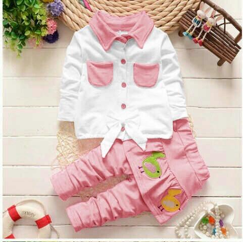 Setelan Celana & Baju Anak Perempuan Lucu & Murah | RYN Fashion