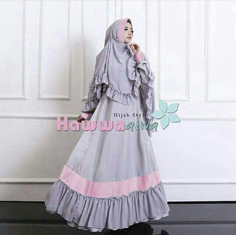 Baju Muslim Wanita Gamis Syari Model Terbaru Cantik