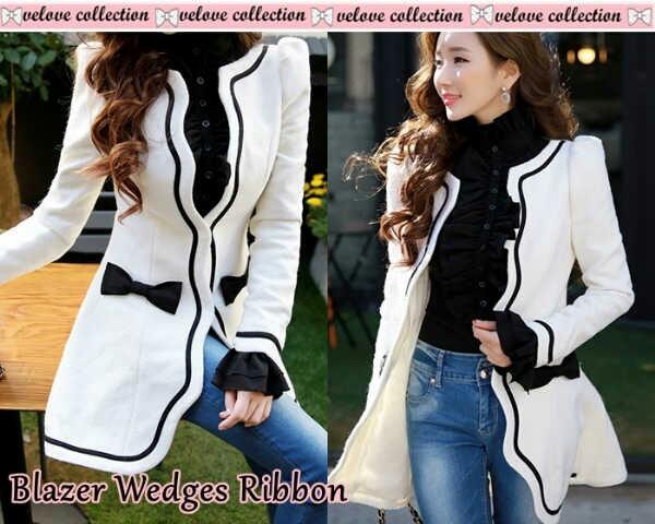 Model Blazer Terbaru Warna Putih Cantik & Murah