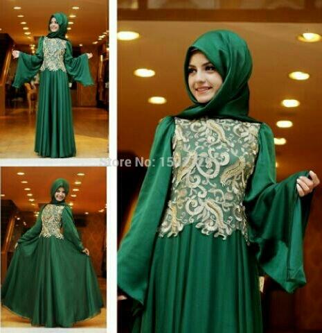 Baju Gamis Long Dress Muslim Modern Terbaru Cantik & Murah