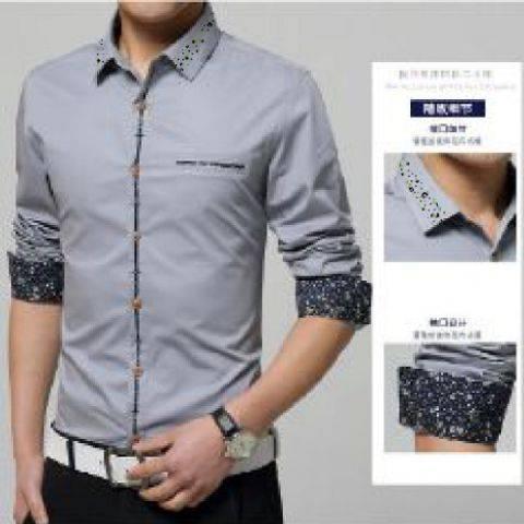 Baju Kemeja Lengan Panjang Pria Keren Model Terbaru