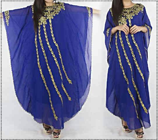 Baju Muslim Wanita Modern Kaftan Model Terbaru Cantik