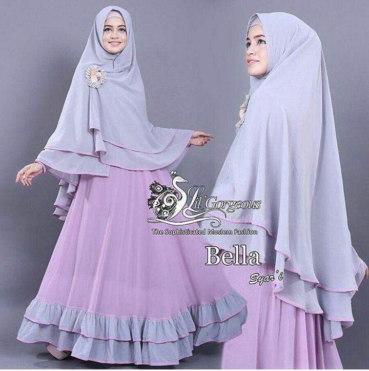 Busana Muslim Wanita Gamis Syari Modern Terbaru Murah Ryn Fashion