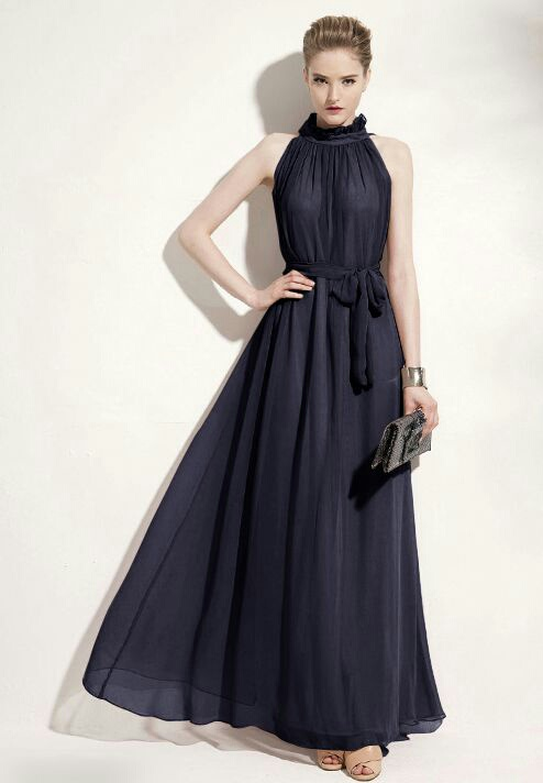 Long Dress Terbaru Desain Lengan Buntung Modern & Cantik
