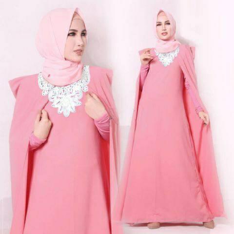 Kumpulan baju muslim Model baju gamis terbaru lebaran 2014