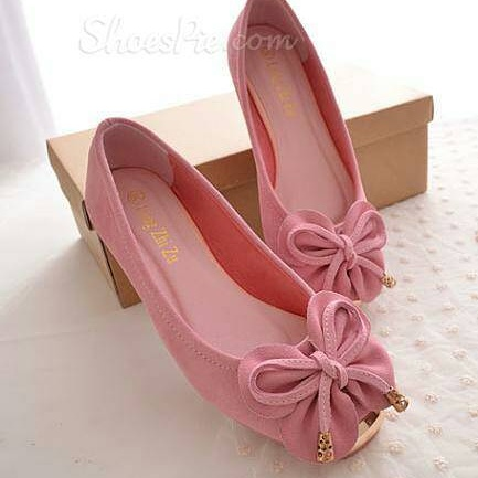 Sepatu Cantik Murah Flat Shoes Desain Modern Model Terbaru