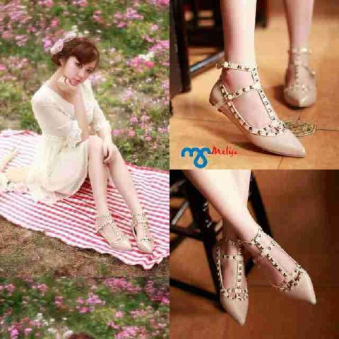 Sepatu Teplek Wanita (Flat Shoes) Model Terbaru Cantik & Unik