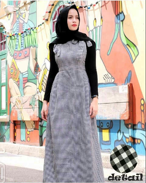 Setelan Hijab Baju Muslim Wanita Modern Cantik & Unik