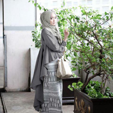Setelan Hijab Model Penguin Cantik Terbaru Modis & Murah