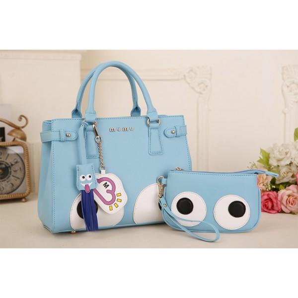 Tas Wanita Handbag Model Terbaru Set 2 in 1 Bagus & Murah