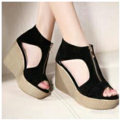 Wedges Terbaru Sepatu Sandal Wanita Murah dan Cantik