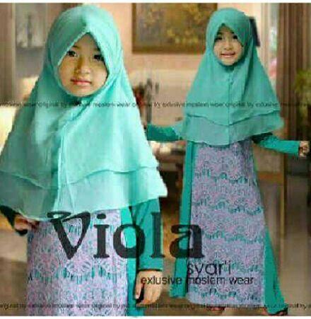 Baju Gamis Muslim Anak Perempuan Model Terbaru