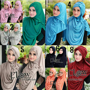 "Jilbab Instan ""Syria Turban"" Model Terbaru Cantik & Modis"
