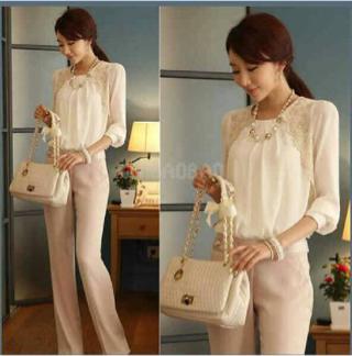 Model Baju Setelan Celana Panjang Wanita Dewasa Modern