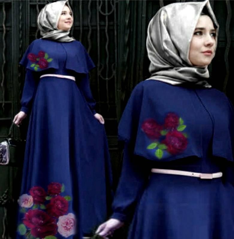 Model Gamis Terbaru Desain Cantik Modis & Unik