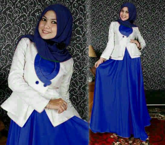 Model Setelan Baju Gamis Terbaru Cantik Modern & Murah