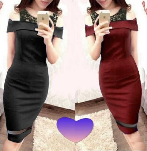 Baju Dress Pendek Cantik & Murah Model Terbaru Paling Modis