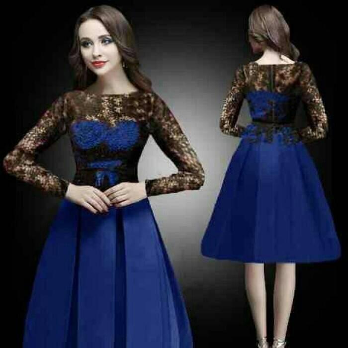 Baju Dress Pendek Gaun Cantik dan Modis Desain Model Terbaru
