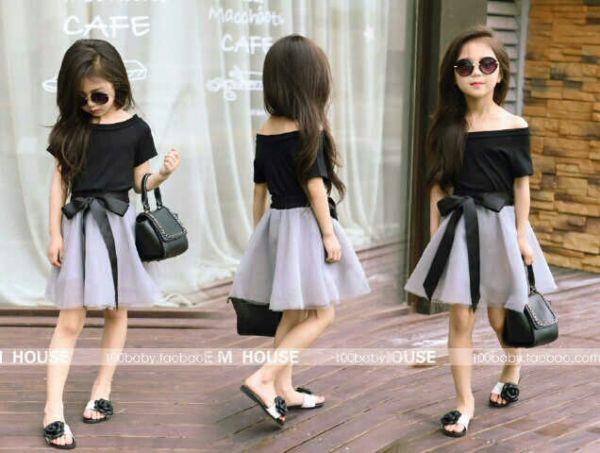 Baju Dress Pesta Anak Perempuan Model Terbaru Cantik & Murah