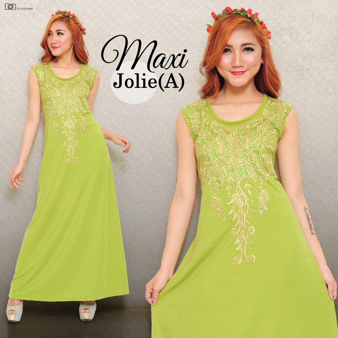Baju Maxi Long Dress Murah dan Cantik Model Terbaru Modern