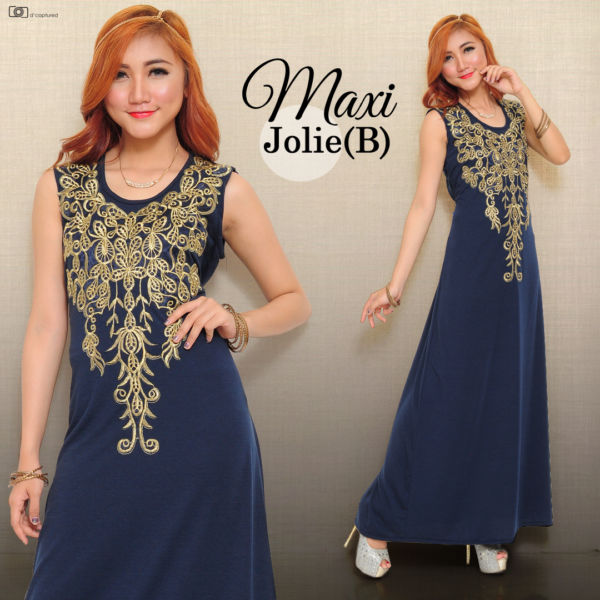 Baju Maxi Long Dress Murah dan Cantik Model Terbaru Modern