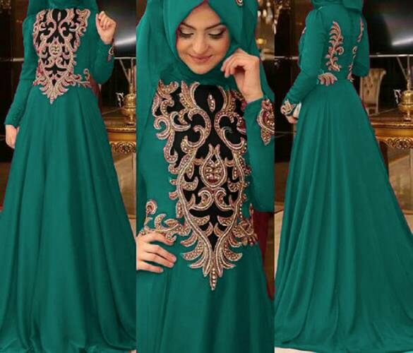 Baju Muslim Wanita Model Gamis Terbaru Desain Modern & Cantik