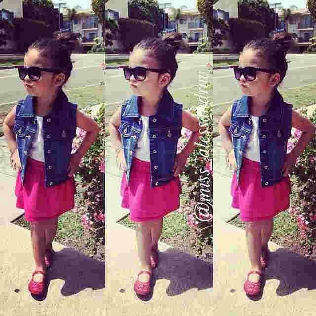 Model Setelan Baju Anak Perempuan Terbaru Cantik Modis dan Lucu