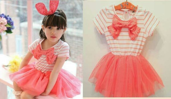 Baju Dress Anak Perempuan Model Terbaru Desain Tutu Cantik & Lucu