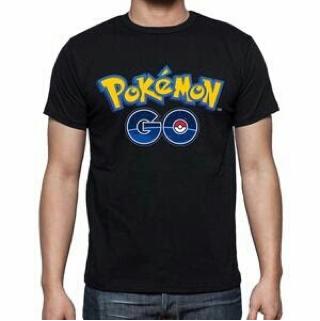 Baju Kaos Pokemon Go Lengan Pendek Pria Model Terbaru Murah