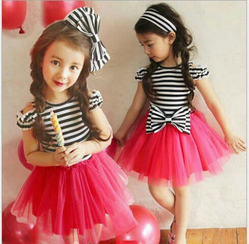 Baju Setelan Dress Pesta Anak Perempuan Cantik dan Lucu