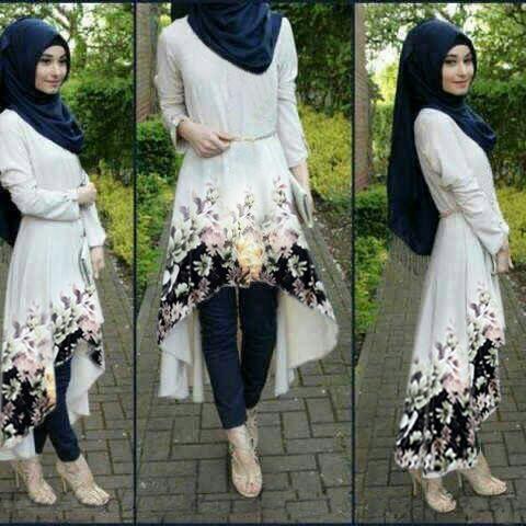 Baju Setelan Hijab Modis Model Terbaru Cantik Modern dan Murah