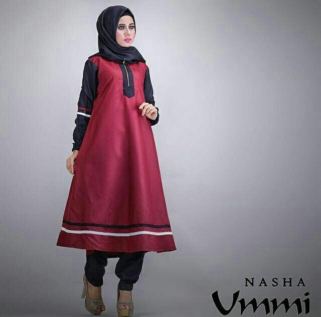 Baju Setelan Muslim Hijab Celana Wanita Modern Terbaru