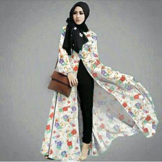 Baju Wanita Setelan Hijab Model Terbaru Modis Cantik Modern